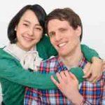 国際結婚をした仲良しカップル