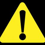 注意の標識